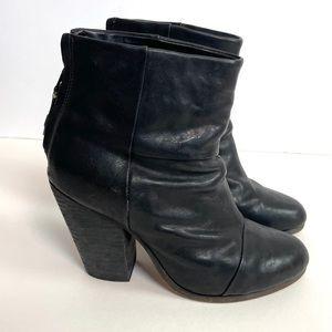 Rag & Bone Classic Newbury Leather Ankle Bootied 6
